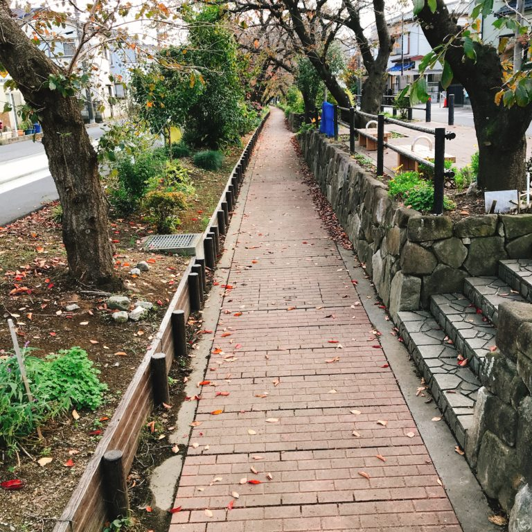 【永堀川公園】川口市辻