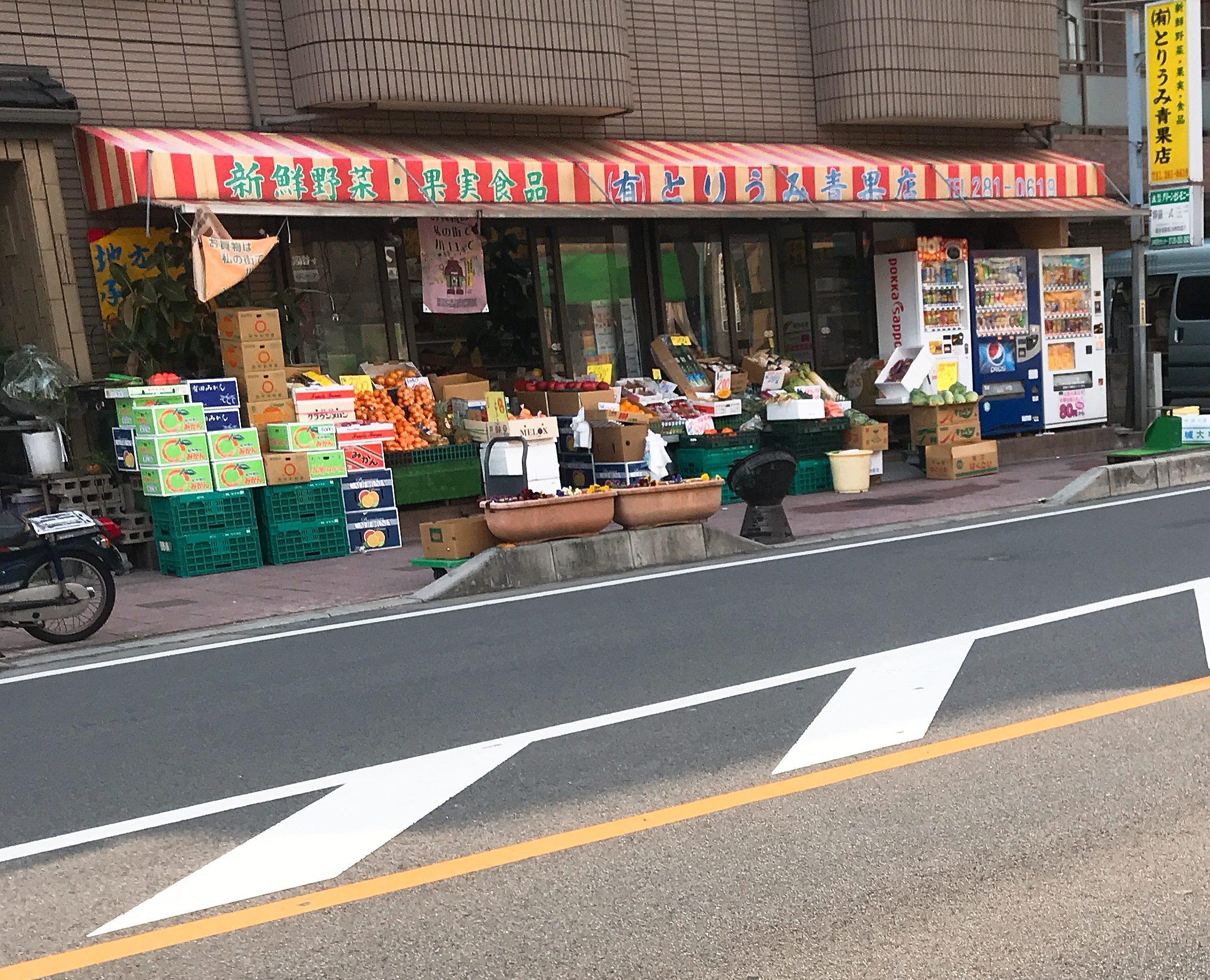 【とりうみ青果店】新鮮な野菜がたくさん!